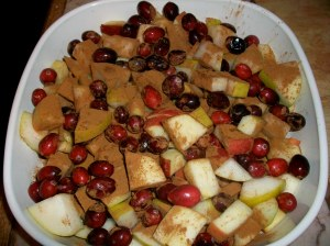 Cranberry Apple Cinnamon Bake
