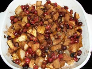 Cranberry Apple Pear Bake