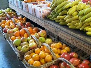 fruits at farmers market