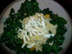 4. Kale and Almonds