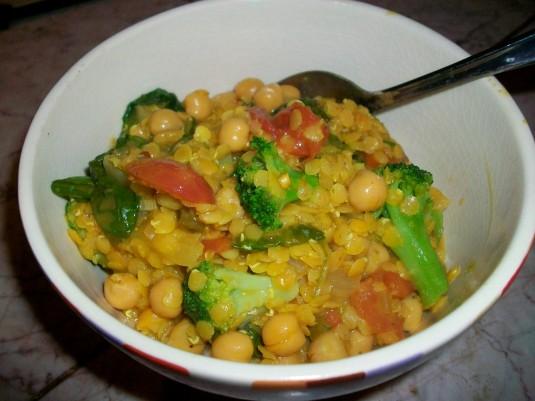 coconut lentils