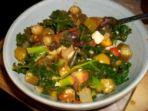 stewed okra recipe