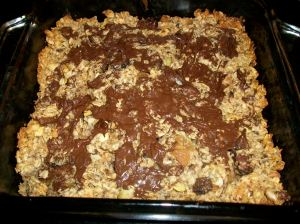chocolate covered granola bars