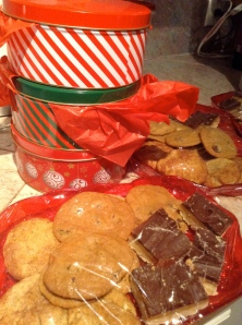 christmas baked goods