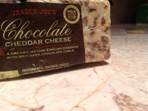 chocolate cheddar cheese